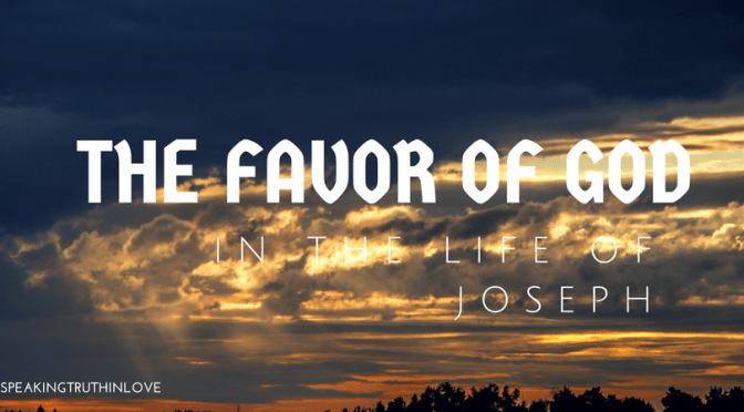 The Favor of God in the Life of Joseph