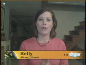"""Kelly Interviewed on First Oprah Use of Skype in """"A New Earth"""" series"""