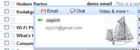 GMail Voice/Video Chat Window