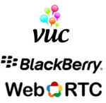 VUC.BlackBerry.WebRTC.logo