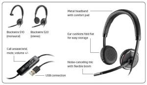 Plantronics headset microphones  VoicePower