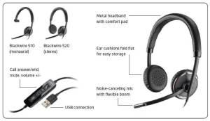Plantronics headset microphones  VoicePower