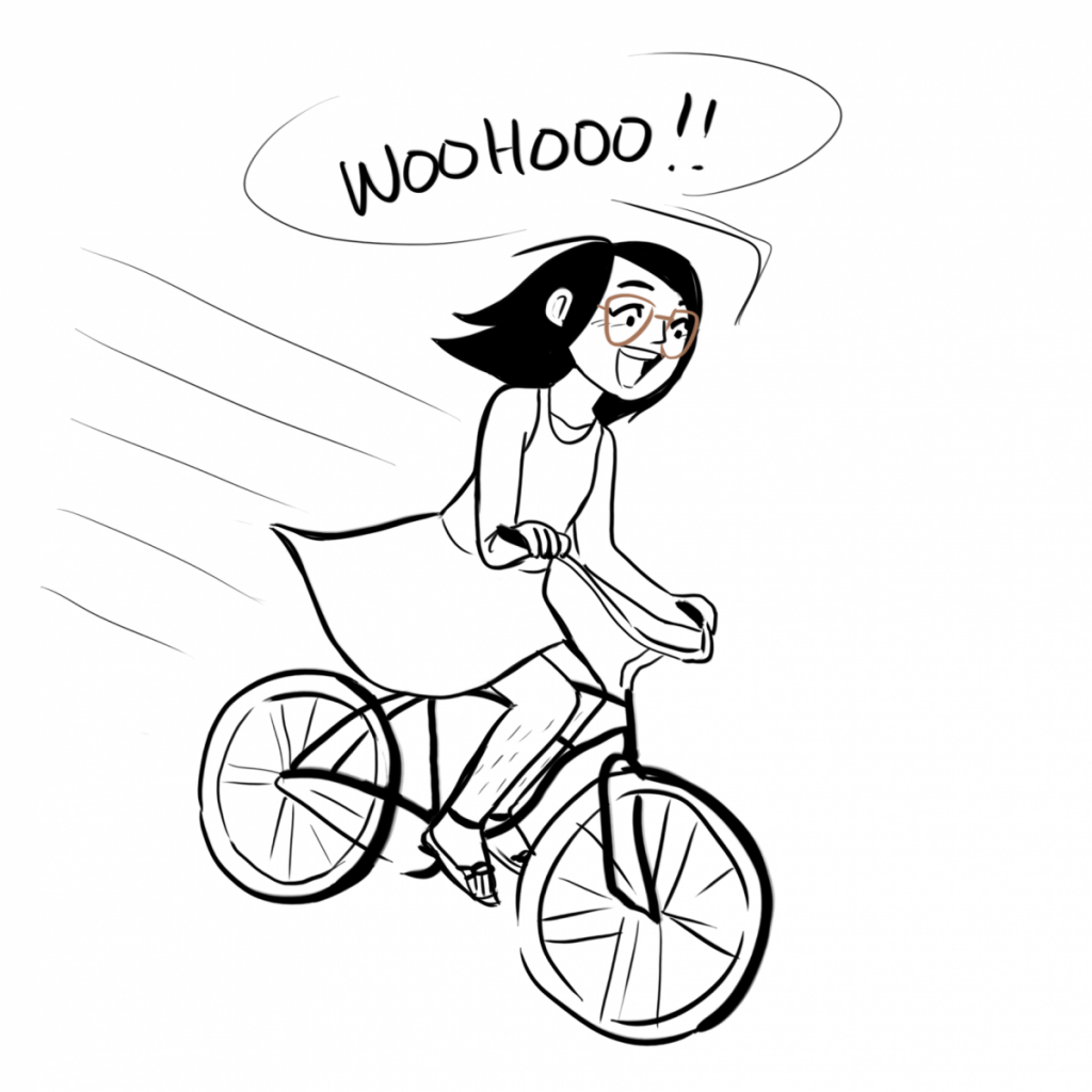Life as an Uncoordinated Bicyclist