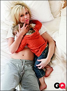 Low class pedophiliac posing of Rielle Hunter...please rescue this child!!!She is in danger!!!
