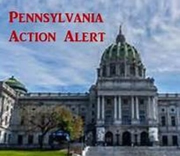Pennsylvania action alert