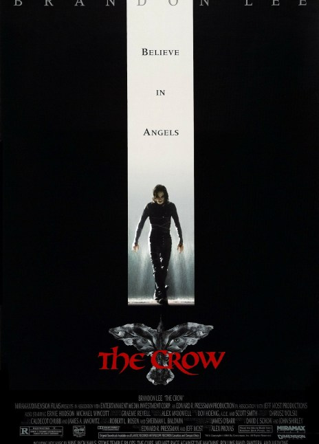 Brandon Lee The Crow Directed By Alex Proyas