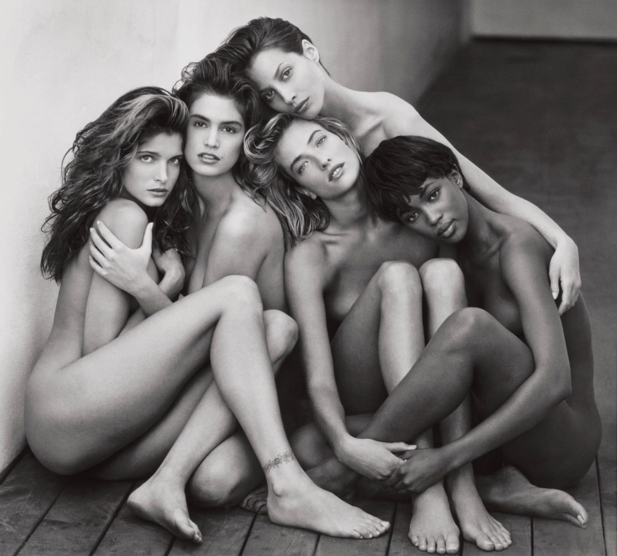 Supermodels, 1989 The Iconic Photograph By Late, Great Herb Ritts