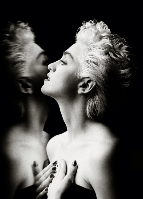 Madonna Photographed by Herb Ritts, 1986