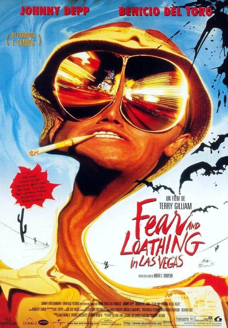 Fear And Loathing In Las Vegas Trailer & Posters