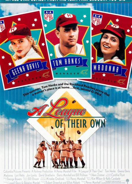 Derek Begins…#8 Tom Hanks Stars In Penny Marshall's A League Of Their Own