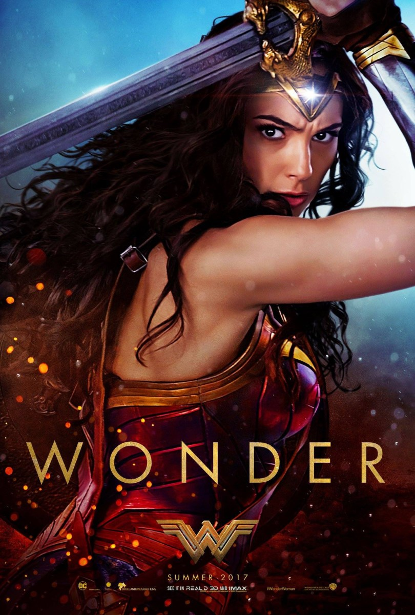 Wonder Woman Official Trailer & Film Posters