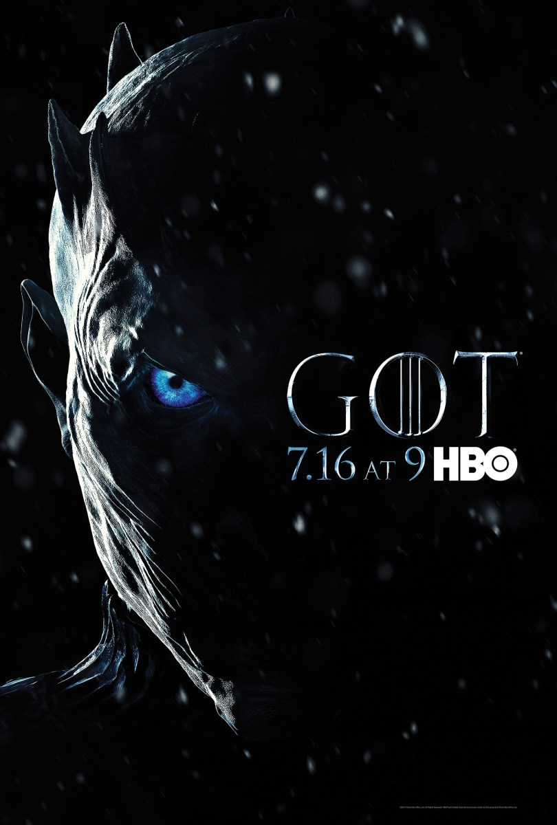 Game Of Thrones Season 7 Official Trailer & Bad-Ass, White Walker Key-Art is Here