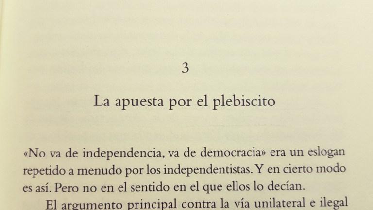 Chapter Three: «A bid for the plebiscite»