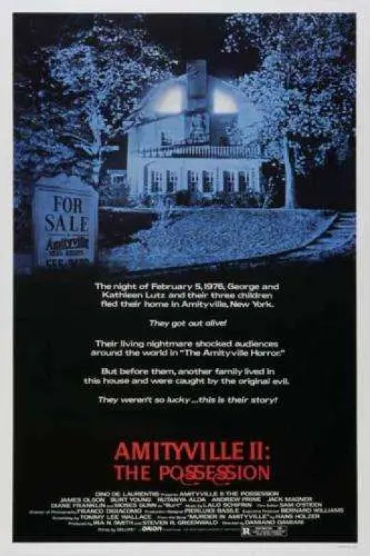 AMITYVILLE II THE POSSESSION, Horror, Horror Movie, Movie, Film Horr Film, Horror Movie Poster, Horror Film Poster, Movie Poster, Film Poster, Horror Poster, Poster, HD, Rutanya Alda, Interview, Voices From The Balcony, Women In Horror Month 2018, WiHM, WiHM9, Acting, Actress, Horror Actress,