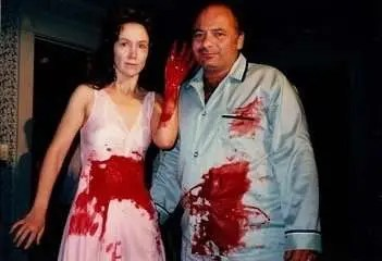 Rutanya Alda, Burt Young, AMITYVILLE II THE POSSESSION, Behind the Scenes, Special F/X, F/X, Makeup F/X, Blood F/X, Horror, Horror Movie, Horror Film, 1980's Horror, Horror Image, Horror Film Image, Horror Movie Image, Women In Horror Month 2018, WiHM9, WiHM, Interview, Actress, Horror Actress, Author, Rutanya Alda Interview, Voices From The Balcony