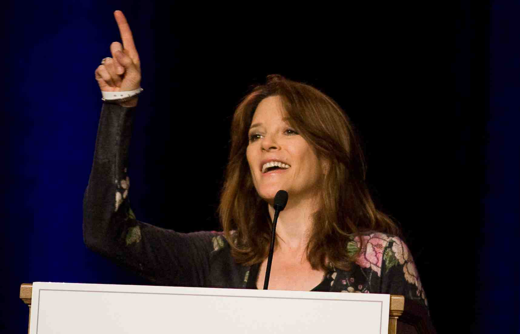 Marianne Williamson on Sister Giant