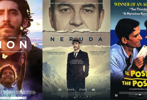 Voices Radio: Film Reviews of Lion, Neruda, and Il Postino