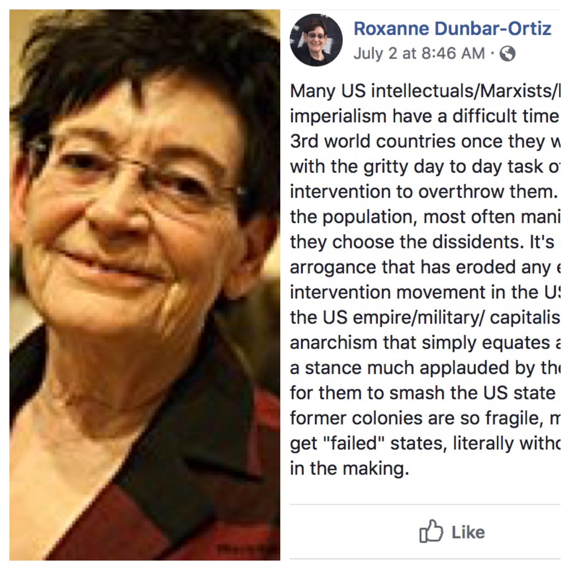 Voices Radio: Eric reads commentary by author, history, and feminist Roxanne Dunbar Ortiz, and discusses with Channing a his listeners, the nature of the Israeli/Palestinian conflict in Gaza.