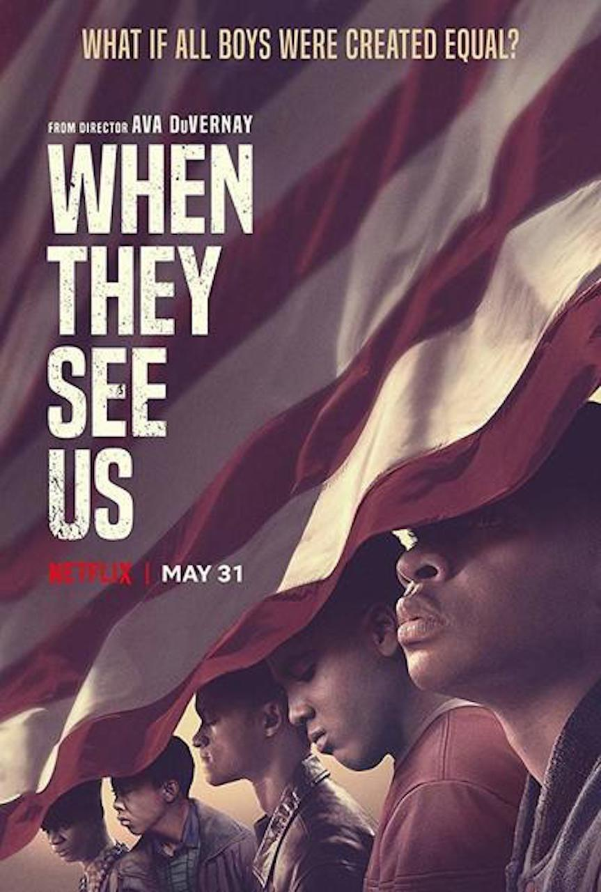 #TODAY ON VOICES RADIO: We Continue our admiration for  and engagement with Ava DuVernay's Brilliant  When They See US