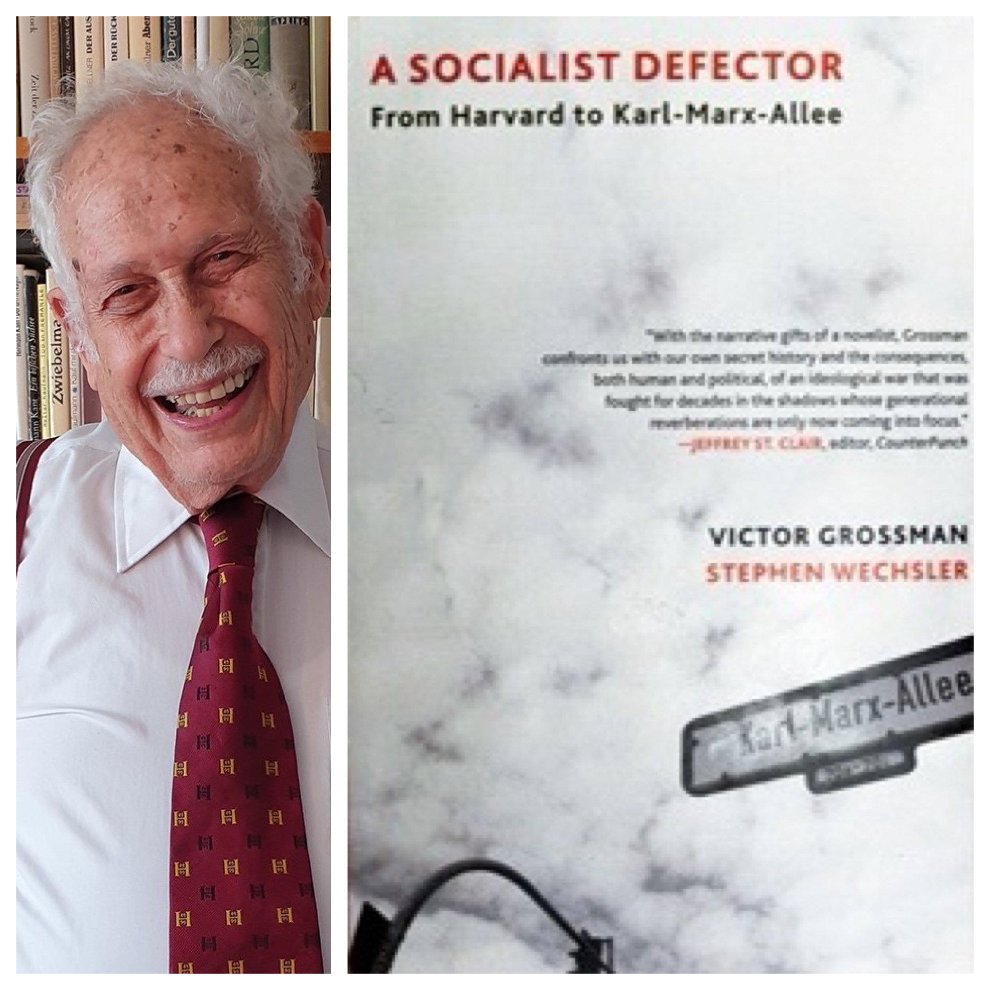 This week on Voices Radio; Eric and Channing are in conversation with Victor Grossman: A Socialist Defector and author, living in Germany