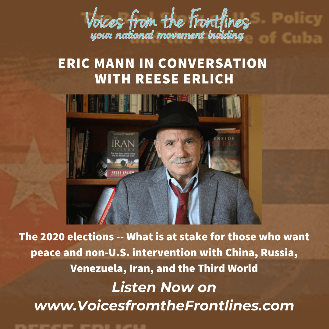 Voices Radio:  2020 Elections and What's at Stake for Peace