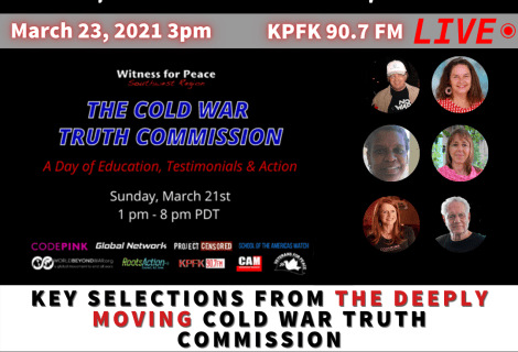TODAY ON VOICES: Key Selections from the Deeply Moving Cold War Truth Commission Program