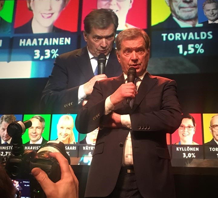 A Story from Election Night in Finland