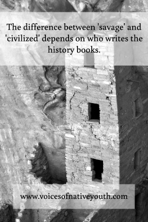 It might be time to take a hard look at your history books to evaluate them for one-sided history-telling. Native Americans were civilized. #socialjustice #nativeamerican #history