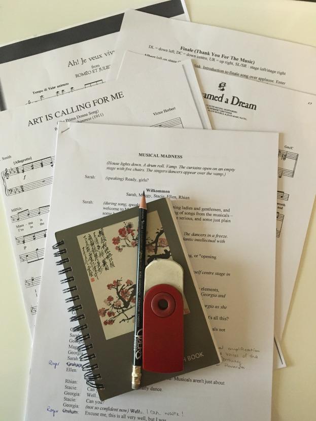 rehearsal music singing preparation