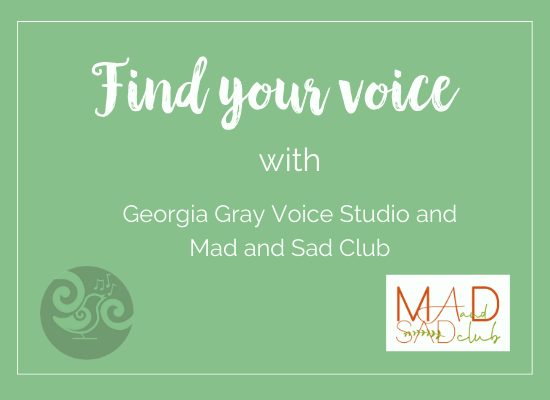 Find Your Voice singing mental health