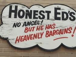 Honest Ed-heavenly bargains