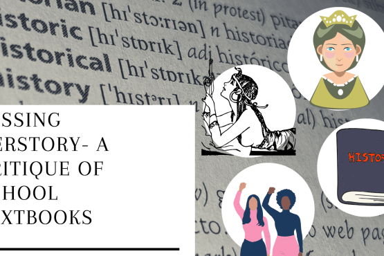 Missing Herstory - A critique of school textbooks Deck: If represented at all in history books, women are likely presented to young minds as promiscuous, overspending, and troublesome.
