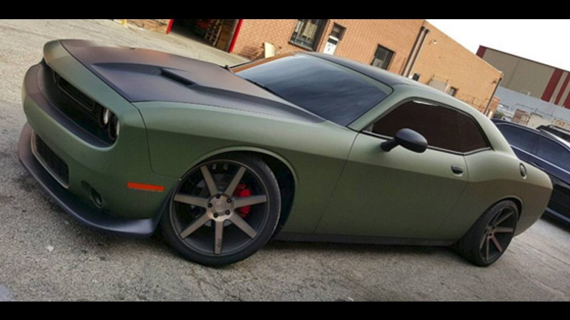 Matte Military Green Wrap - By the Yard - Voice Works ...