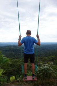 Dans le vide au dessus de la jungle!