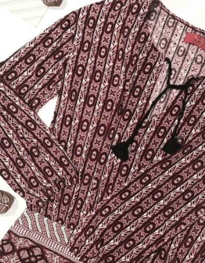 Tigerlily Inle Dress Garnet