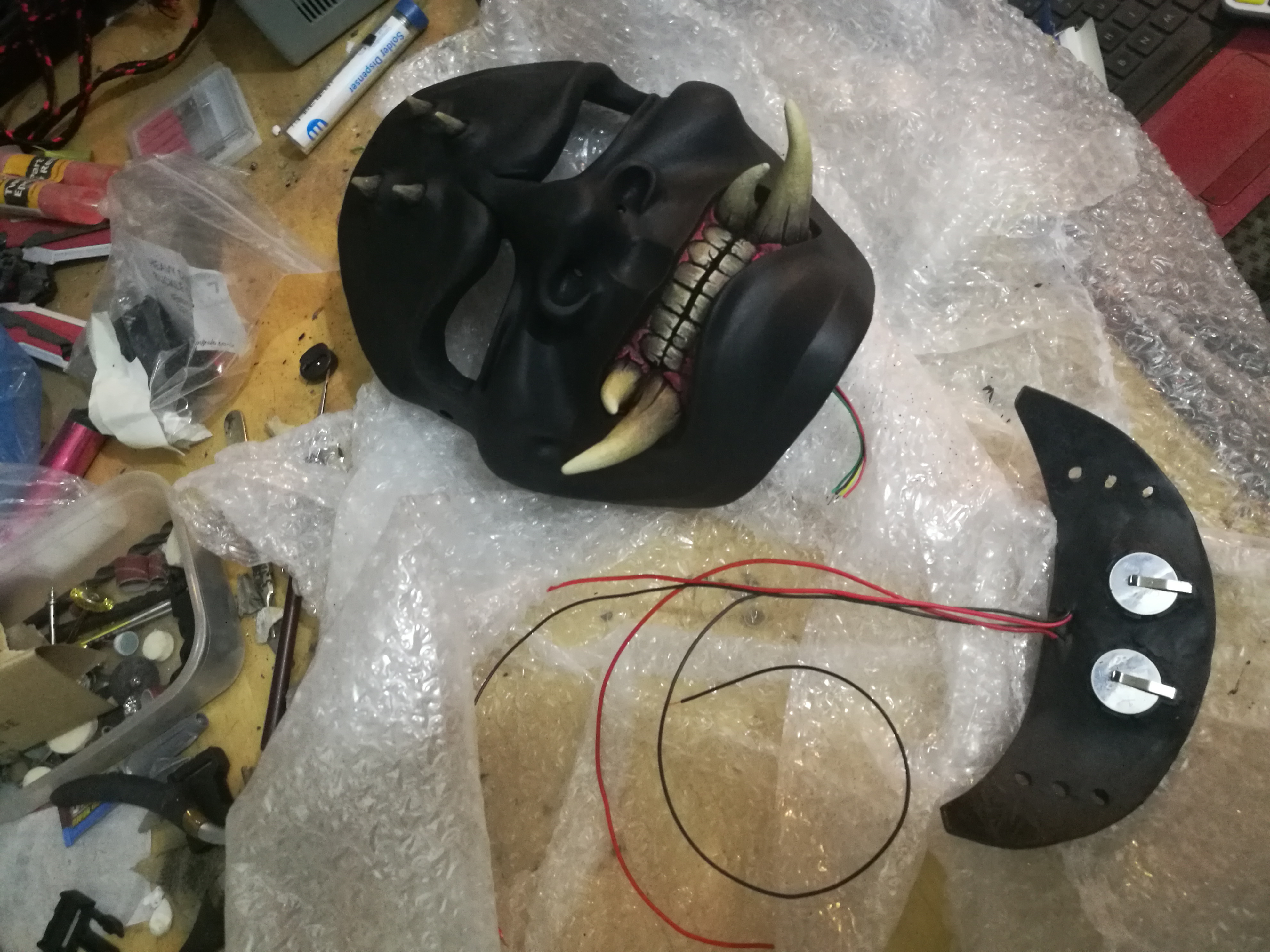 Void One - Neck Armour Battery Install