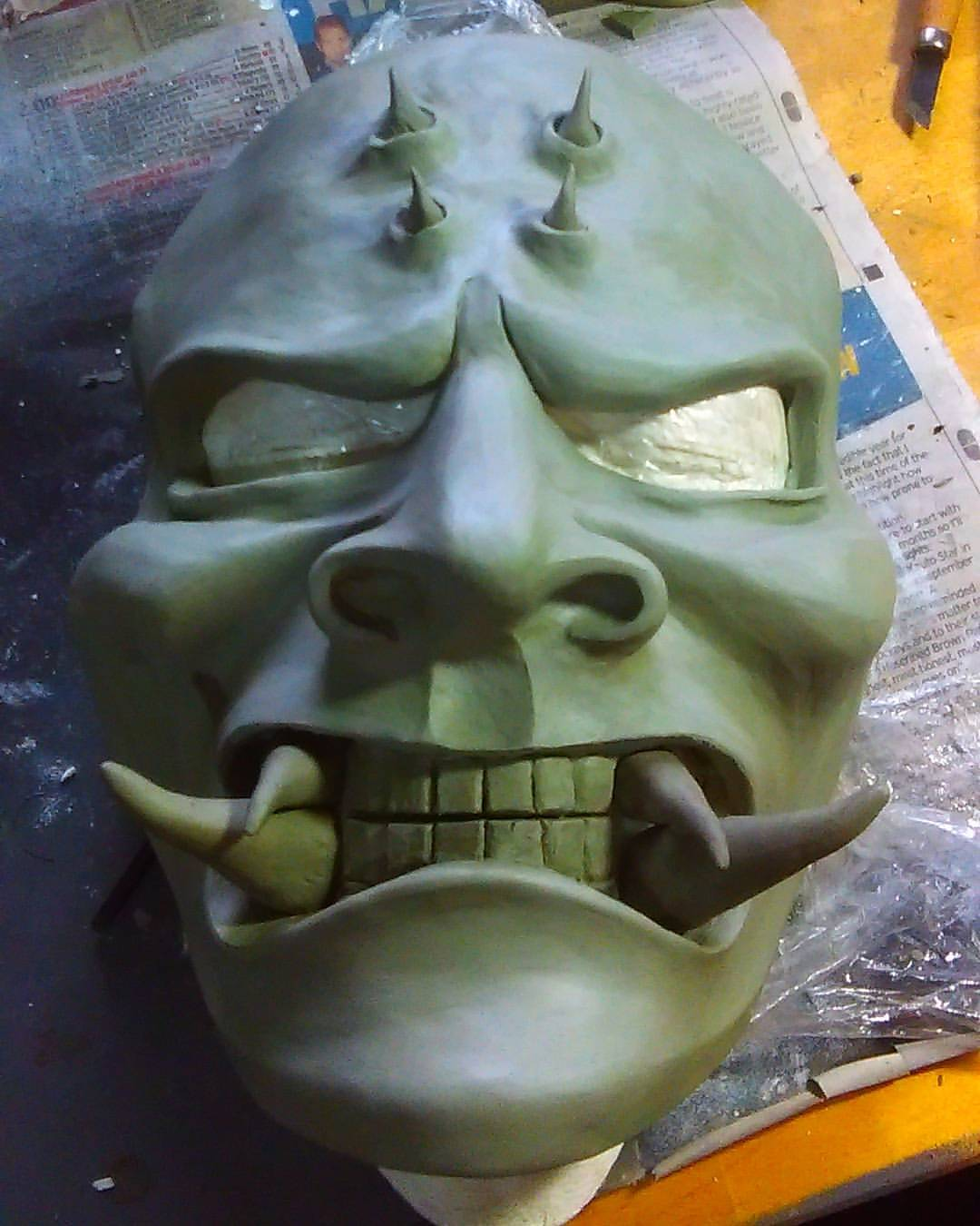 Void One - Final Oni Mask Clay