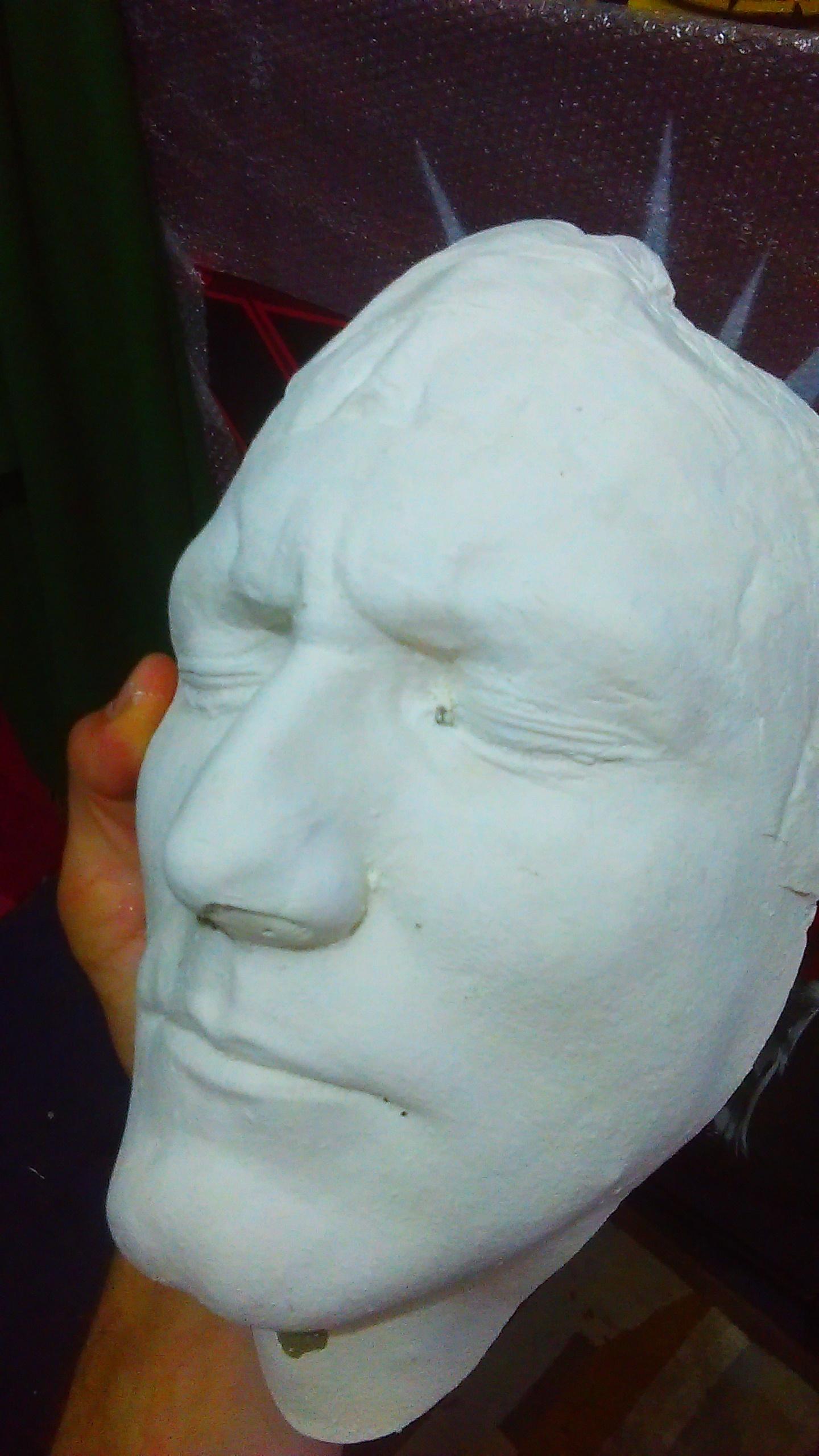Void One - Plaster Casting