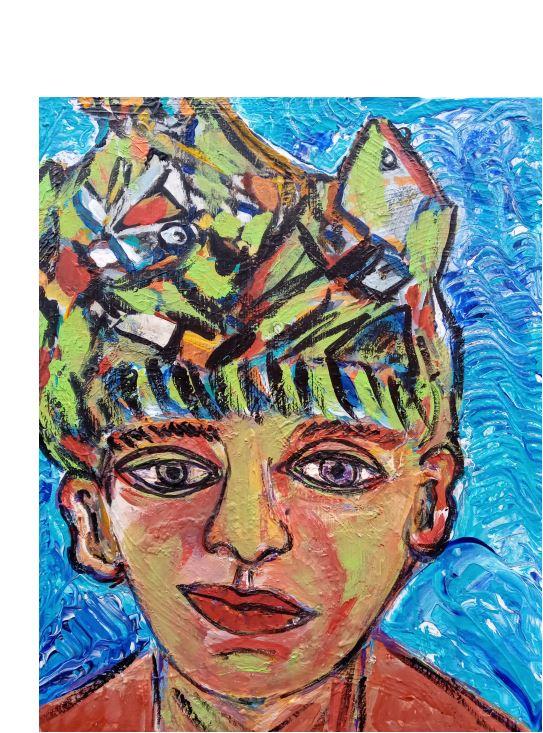 Kopfschmuckportrait