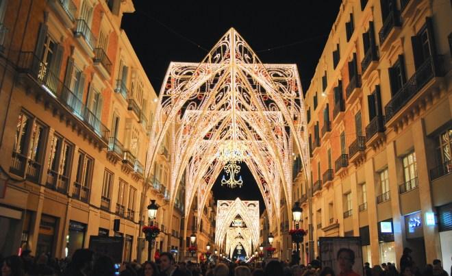 navidad malaga calle larios