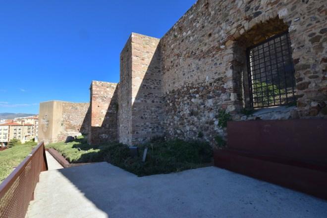 muros alcazaba mirador malaga