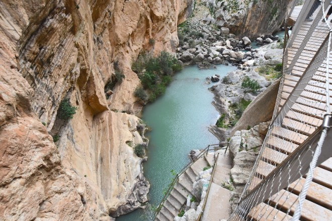 Gorge of the pigeons excursions from malaga