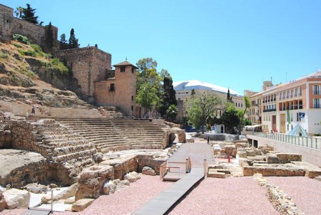 théâtre romain de Malaga