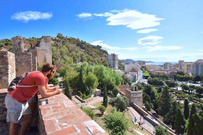 views alcazaba malaga