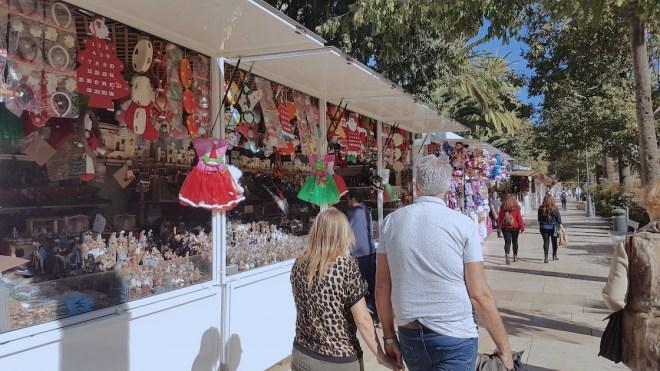 christmas market malaga