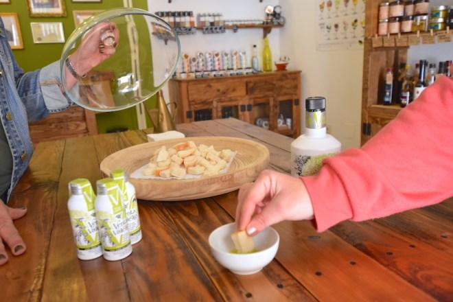 degustación aceite oliva