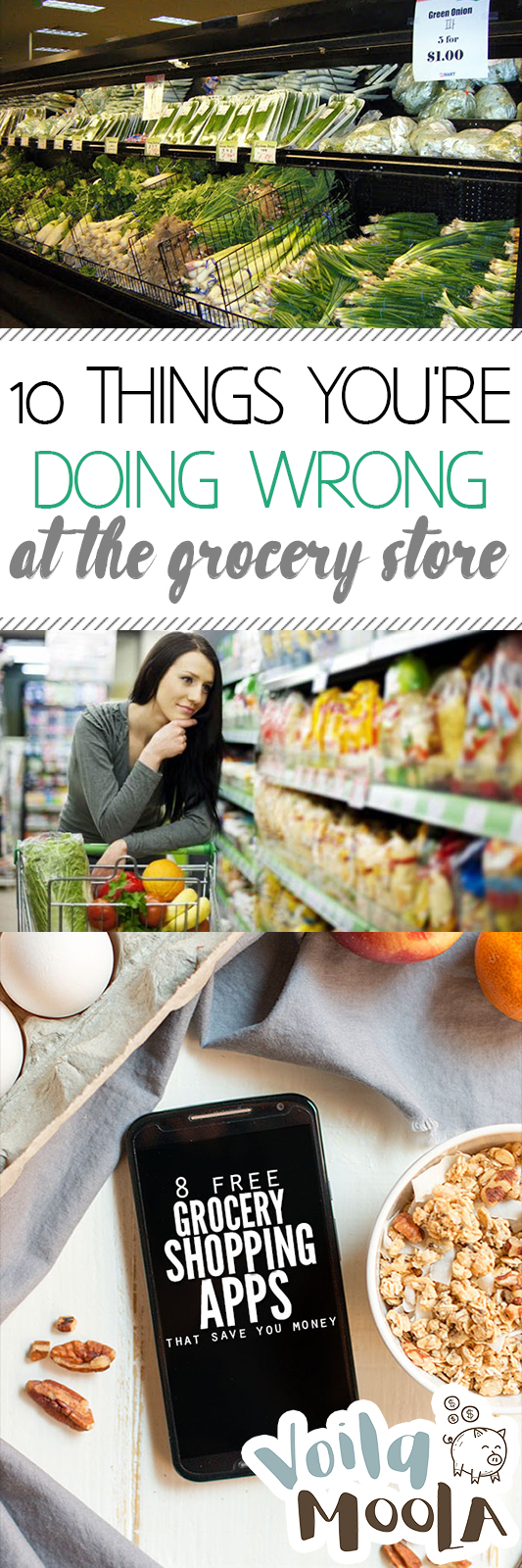 10 Things You're Doing Wrong at the Grocery Store| Grocery Store, Grocery Store Hacks, Save Money, Save Money Shopping, Shopping Hacks #PersonalFinance #SaveMoney #MakeMoney #MakeMoneyFast