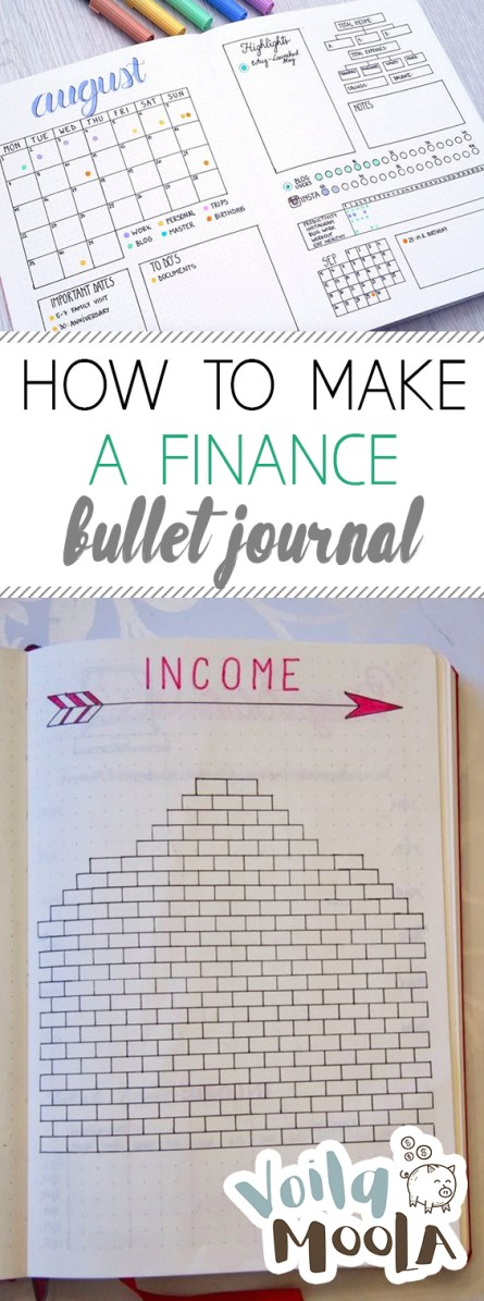 How to Make a Finance Bullet Journal| Finance Tips, Finance, Finance Bullet Journal, Finance Organization, Finance Bullet Journal Ideas, Finance Bullet Journal Layout
