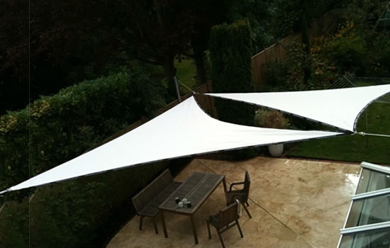 voile d ombrage triangle rectangle 3x4x5m
