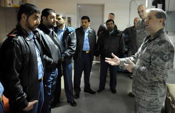 United Arab Emirates military members visit Fairchild